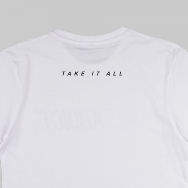 Full Name Logo ★ printed white T shirt