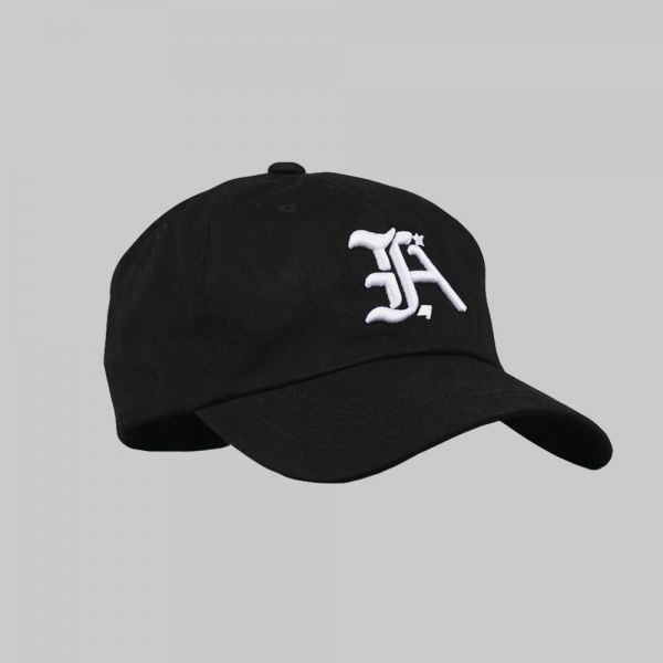Full Initials Logo ★ embroidered black cap