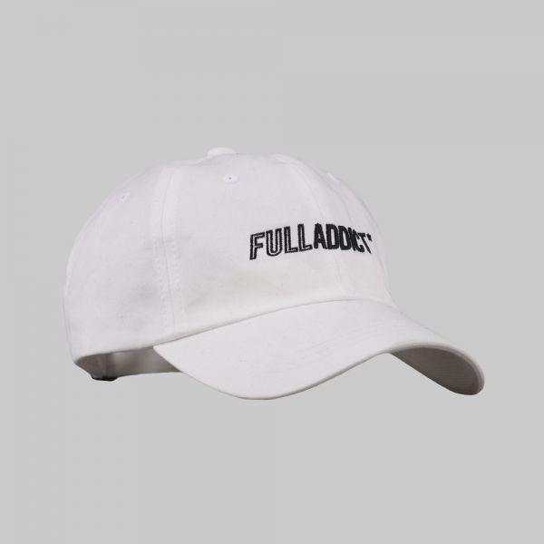 Full Name Logo ★ embroidered white cap