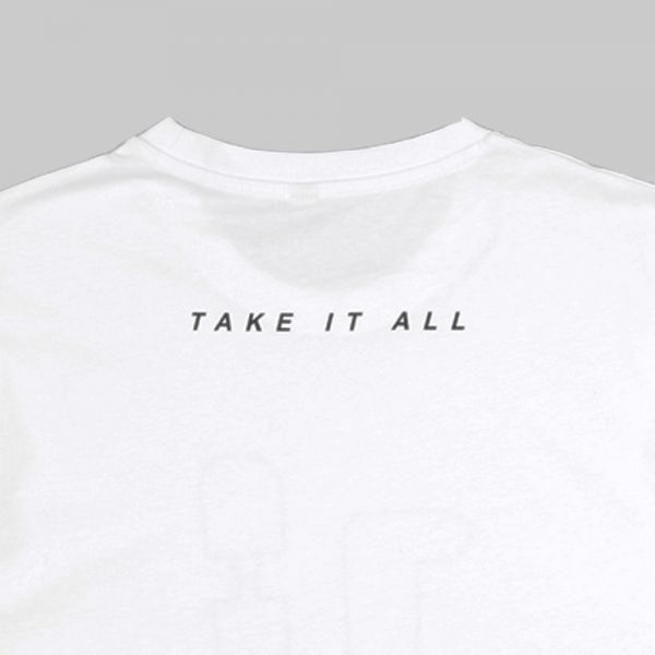 Full Gear Rabbit ★ printed white T shirt