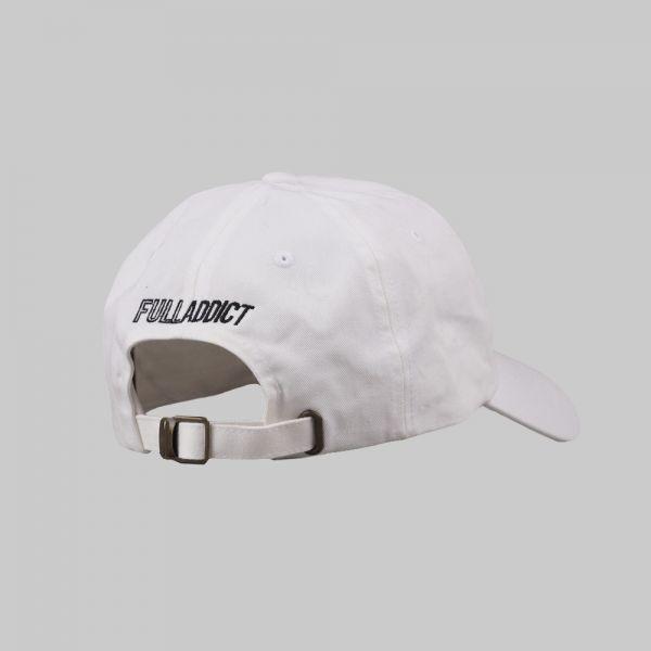 Full Initials Logo ★ embroidered white cap